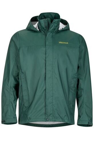 Dark Spruce Marmot Men/'s PreCip Lightweight Waterproof Jacket