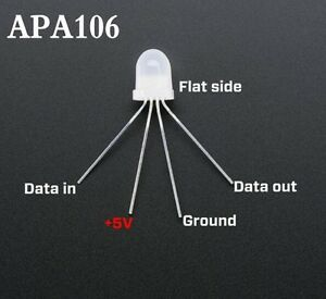 APA106-F5-F8-IC-Integrate-Round-RGB-Lamp-LED-String-controller-5V-like-WS2812B