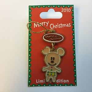 DLR-Merry-Christmas-2010-Gingerbread-Mickey-Mouse-LE-500-Disney-Pin-80652