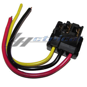 NEW ALTERNATOR REPAIR PLUG 3 WIRE HARNESS FOR MERCEDES BENZ 230 240D ...