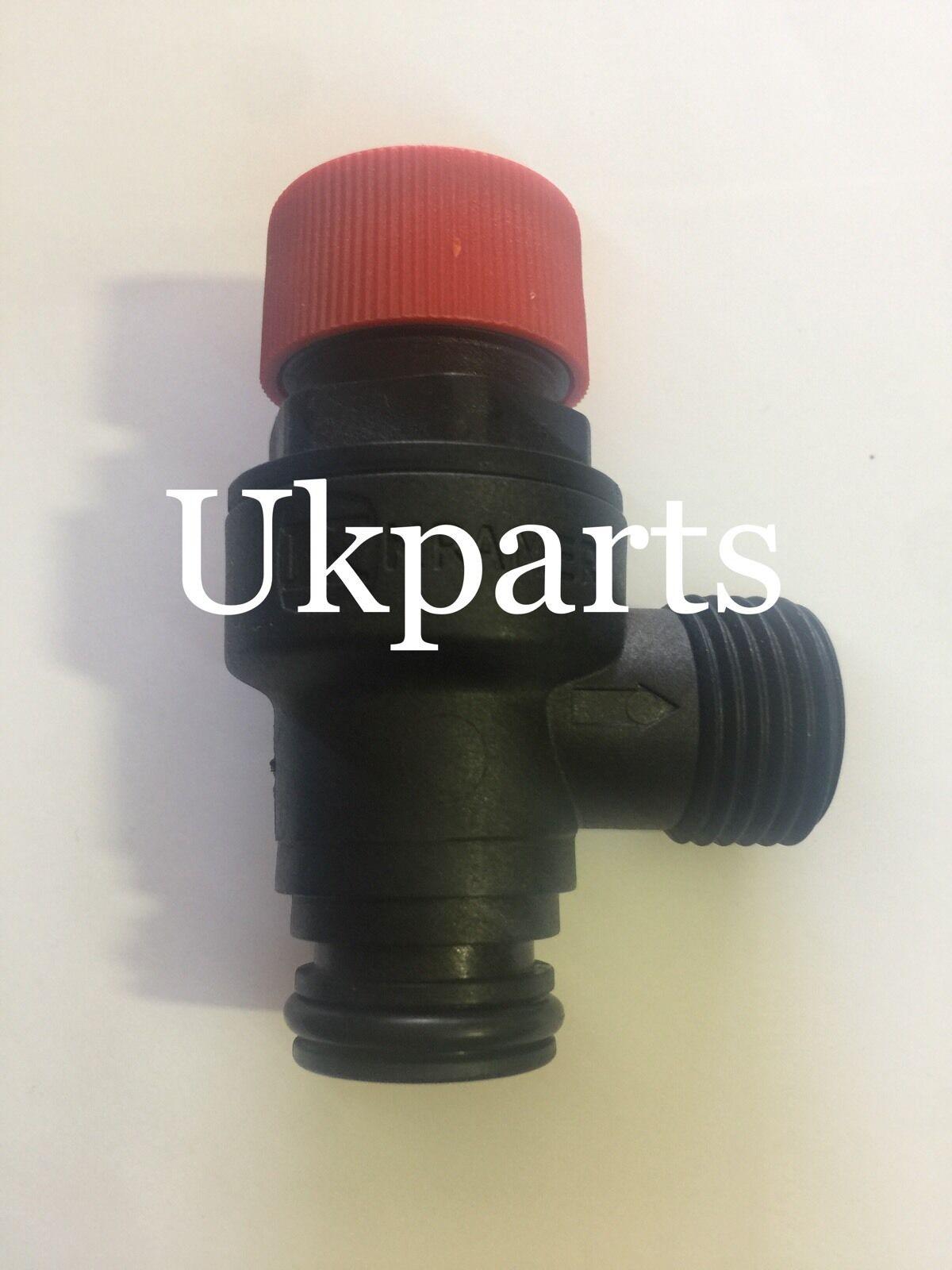 Genuine Vokera Unica 28HE 32HE /& 36HE Pressure Relief Valve 20044364 10025055