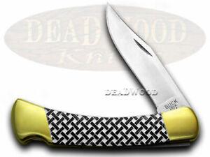 Buck 110 Faltbar Hunter Messer Basketweave Black Pearl Corelon 1/400 Edelstahl