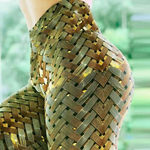 New Women Yoga Leggings High Quality Push Up Elastic Workout Scrunch Booty Pants