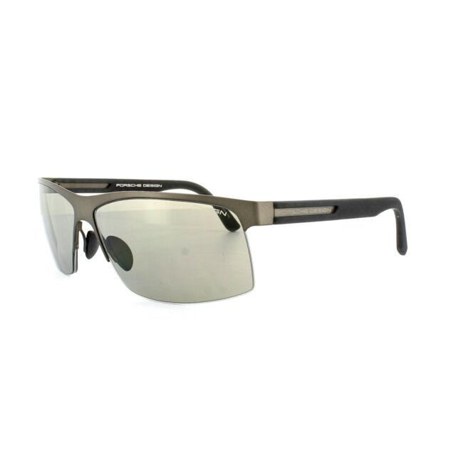 df94d72dd8 Porsche Design Sunglasses P8561d D V723 Chocolate Brown Black Grey ...