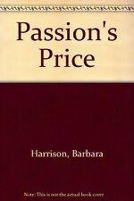 Passion's Price,Prof. Barbara Harrison