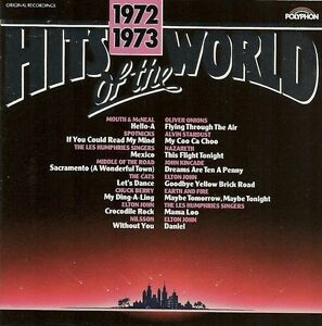 Hits-of-the-World-1972-73-Mouth-amp-McNeal-Spotnicks-Oliver-Onions-Earth-CD