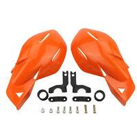 Orange Hand Guards For Snowmobile Polaris Rmk Ski-doo Sno Pro Vector Phaser Indy