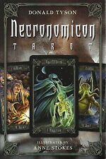 NECRONOMICON TAROT KIT Deck Card Book Set Anne Stokes HP Lovecraft oracle cards