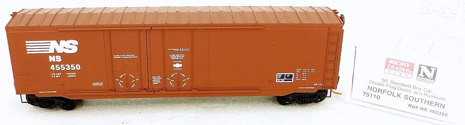 Micro Trains Line 75110 Norfolk Southern 50´ Box Car 1 160 OVP  e å