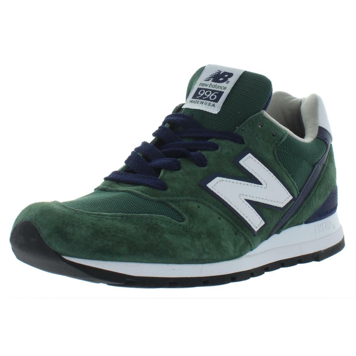 New Balance Mens verde Low Top Casual scarpe da ginnastica scarpe 9 Medium (D) BHFO 9850