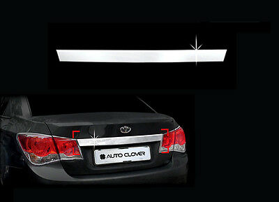 Rear Tail Trunk Door Chrome Trim Line Garnish 1P For 09 10 Kia Optima Lotze Inno