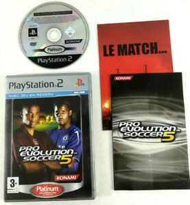 Jeu-Playstation-2-PS2-VF-Pro-Evolution-Soccer-PES-5-et-notice-Envoi-rapide-suivi