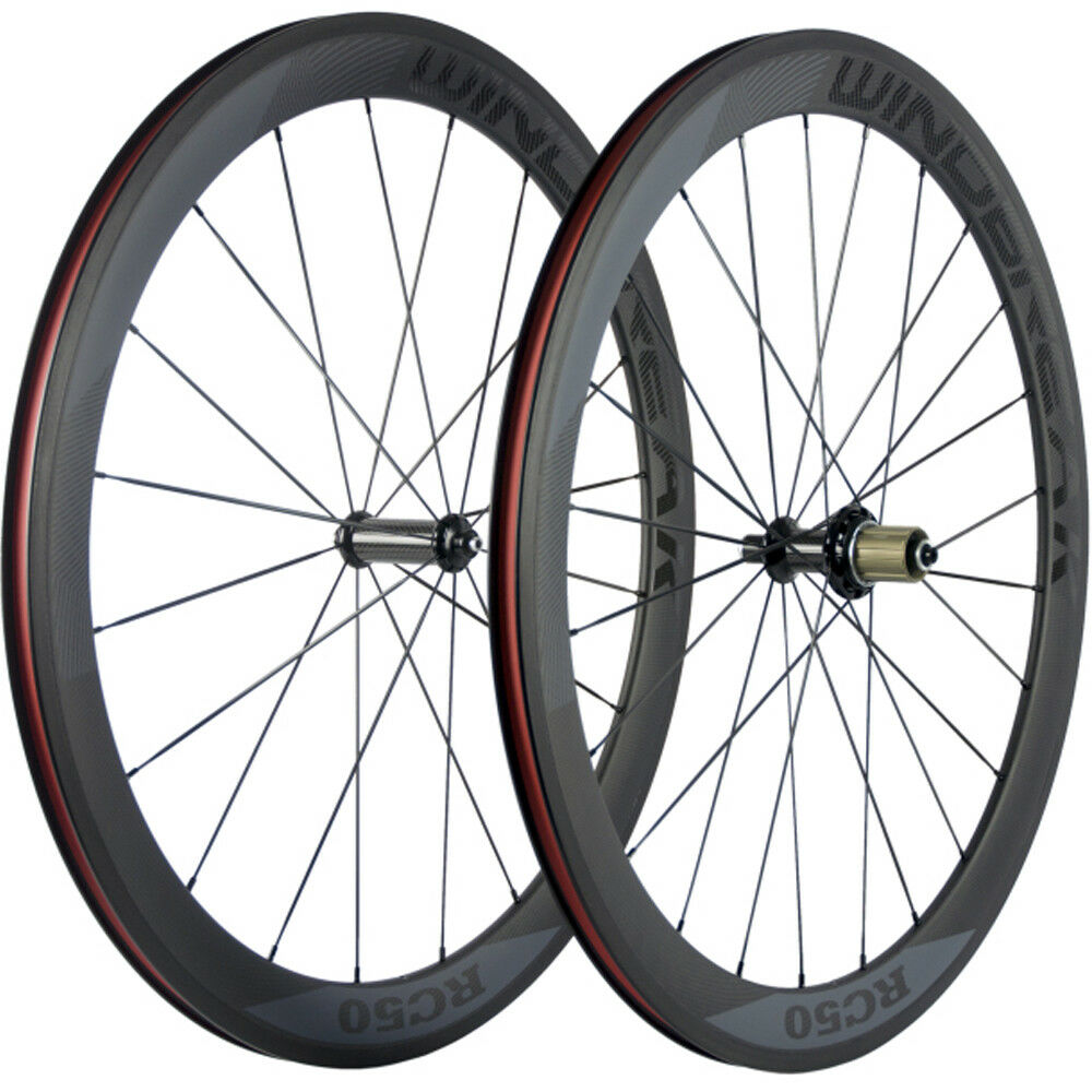 Carbon Road Wheels 50mm  Bicycle Wheelset R36 Carbon Wheels 3K Matte Front+Rear  timeless classic