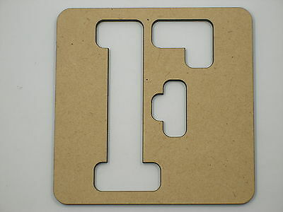 25cm Wooden Name Stencil Wood Letters