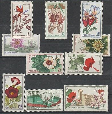 Flight Tracker V2764 Rumänien/ Blumen Minr 2442/51 ** HöChste Bequemlichkeit Motive