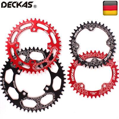 DECKAS 32-52 Zähne 104mmBCD Kettenblatt Runde Oval Kurbelgarnitur MTB Fahrrad
