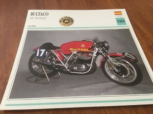 Details about Card motorrad Bultaco 360 24 Horas 1969 collection Atlas Spain