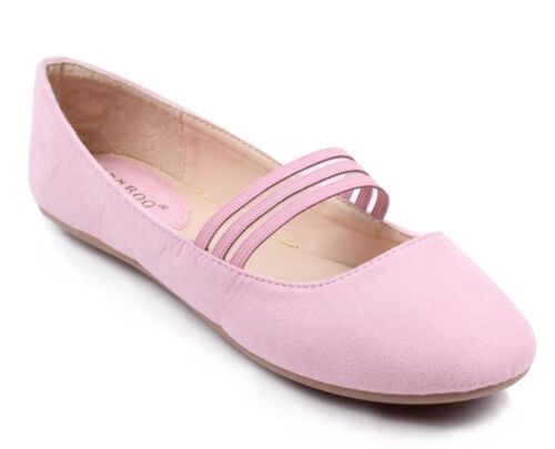 Bamboo New Strappy Round Toe Women Ballet Flats Dress Shoes Size 5.5-10