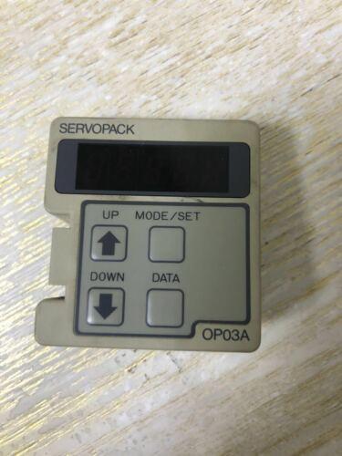 1PC Used Yaskawa operating panel JUSP-OP03A #W7127  WX