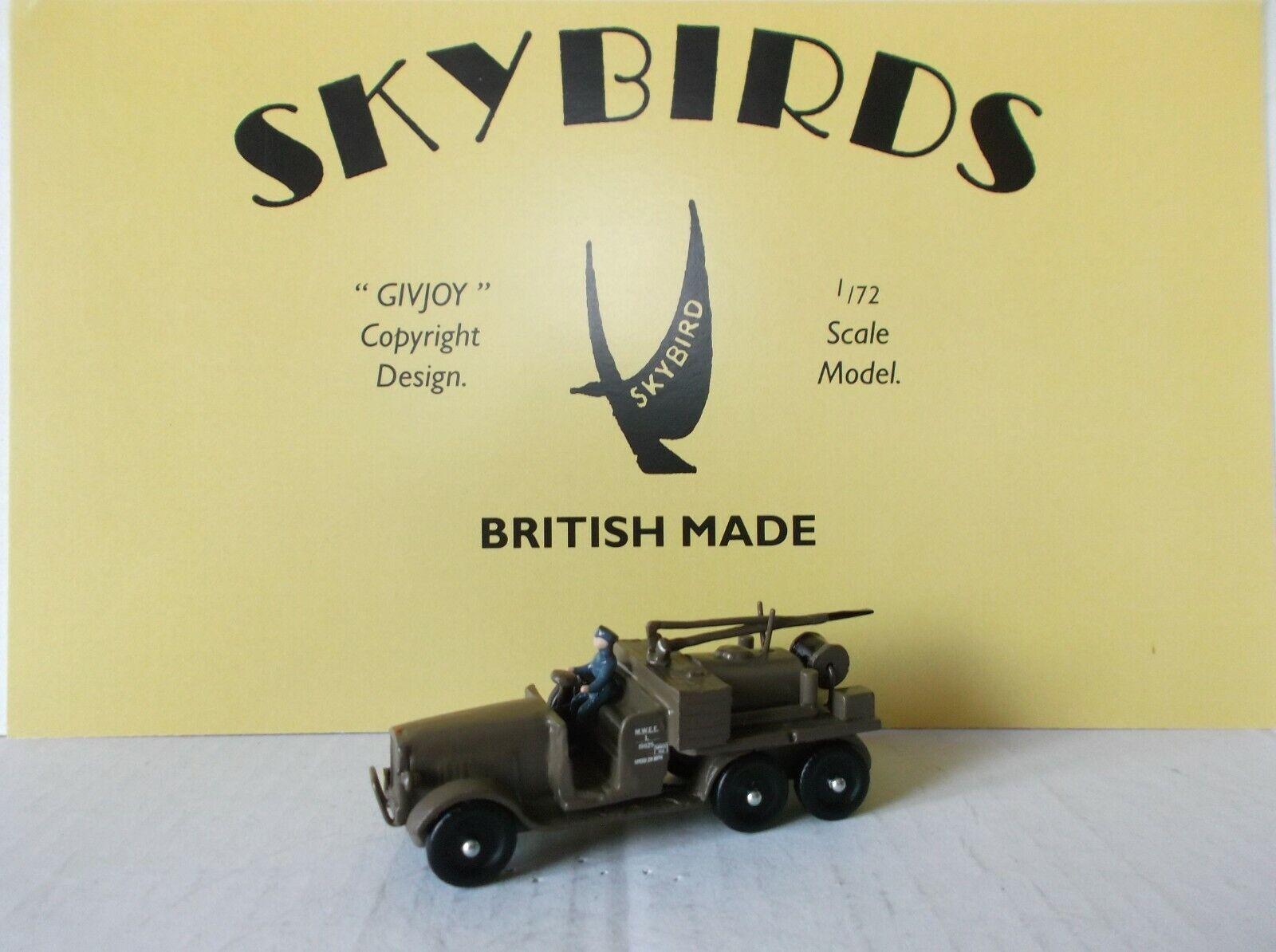 Skybirds Models. RAF Crash Tender 1932.