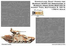 Splinter Camo Paint Masks for Russian BMPT-72 Terminator II 1:35 RAE 2015