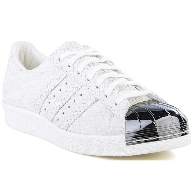 info for da6f2 01248 Adidas Originals Superstar 80S Metal Toe Trainers Shoes Trainers