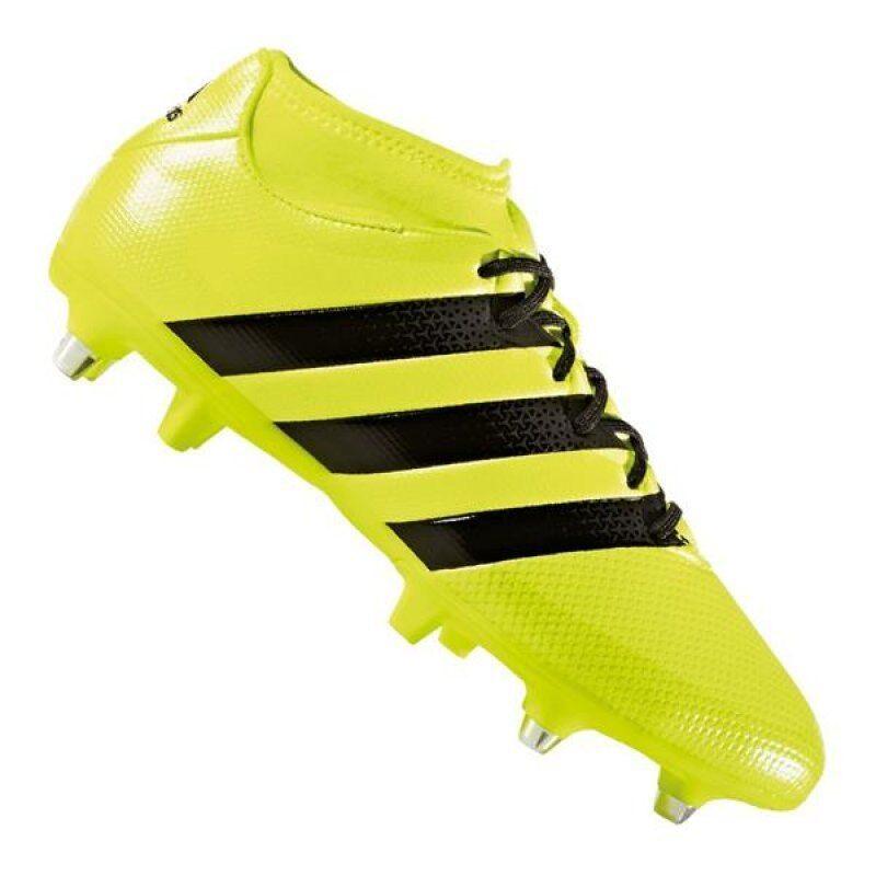 Scarpe calcio uomo Adidas Ace 16.3 Primemesh SG BA8422 giallonero