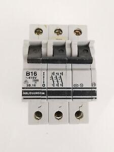 ABL Sursum 3B.16 B16 Leitungsschutzschalter 3-polig LS-Schalter