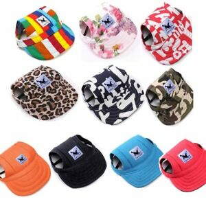 Pet-Dog-039-s-Hat-Baseball-Cap-Windproof-Travel-Sports-Sun-Hats-for-Puppy-Large-Hats