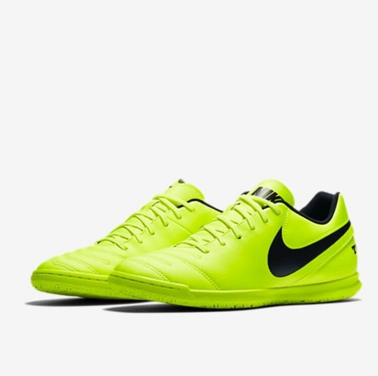 NIKE TIEMPOX RIO III IC Indoor Soccer shoes 819234-707 Sz 10.5