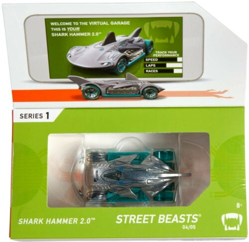 Hot Wheels 2019 id series 1 shark hammer 2.0 street beasts 04 05 brand new