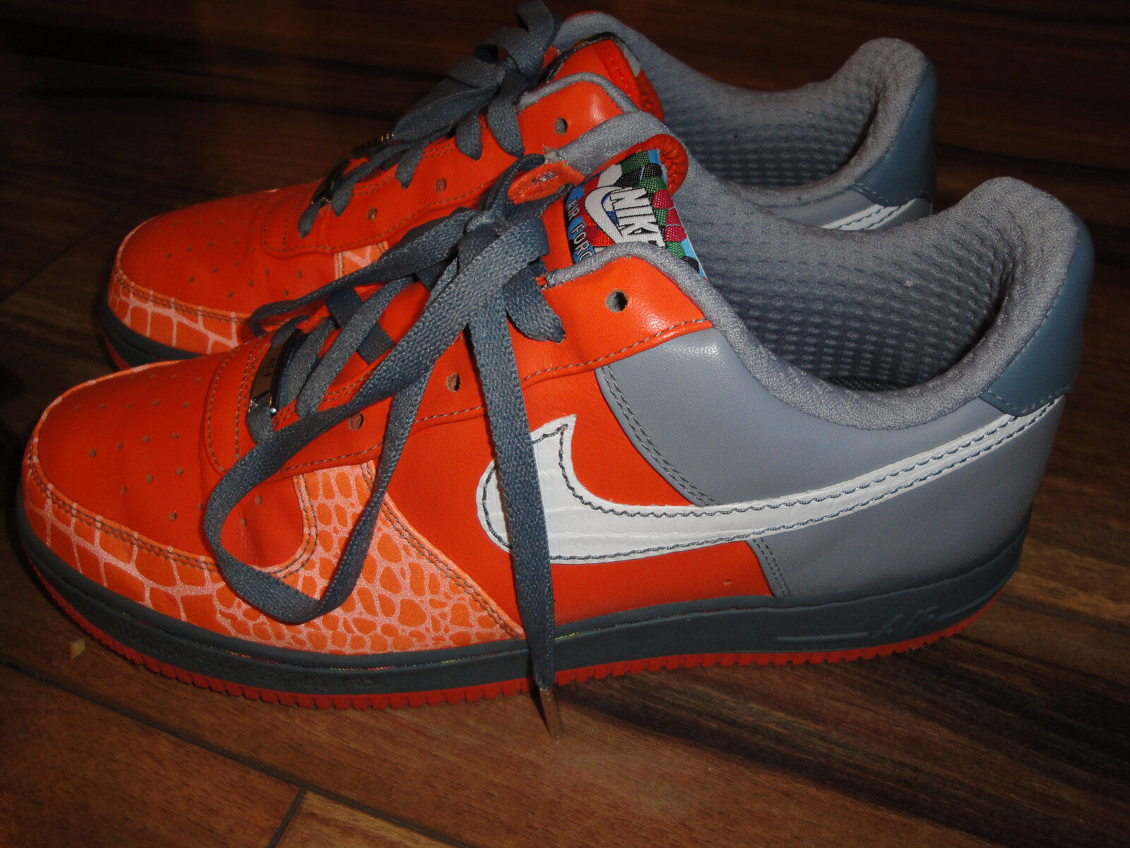 Nike Air Force One '07 Premium  Choz  South Bronx Size 10.5 Style