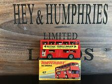 matchbox superfast no.17B Rare Sandwell Vehicle Promoversion OVP from 1979