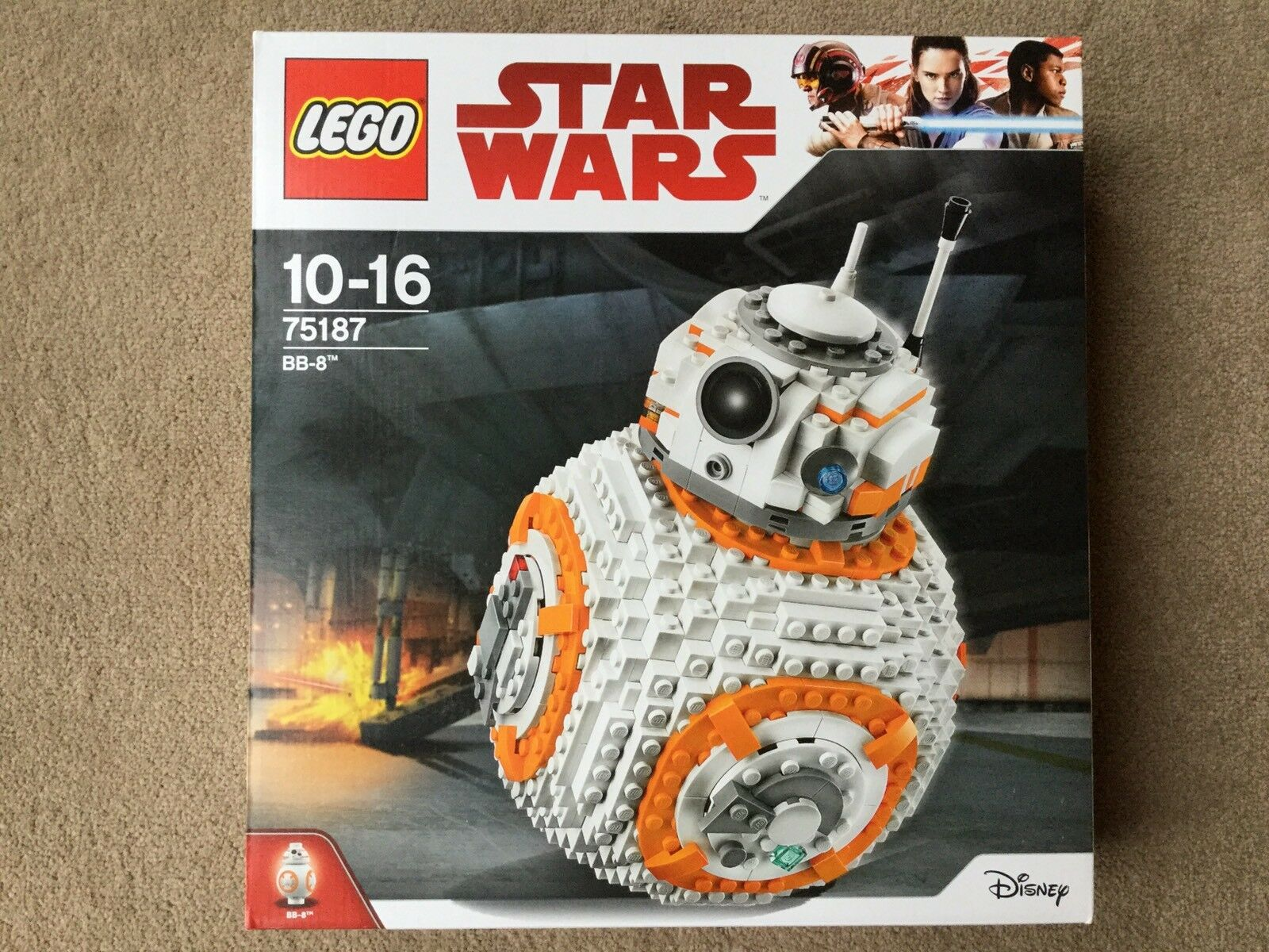 Lego Star Wars 75187 BB-8 - NEW & SEALED