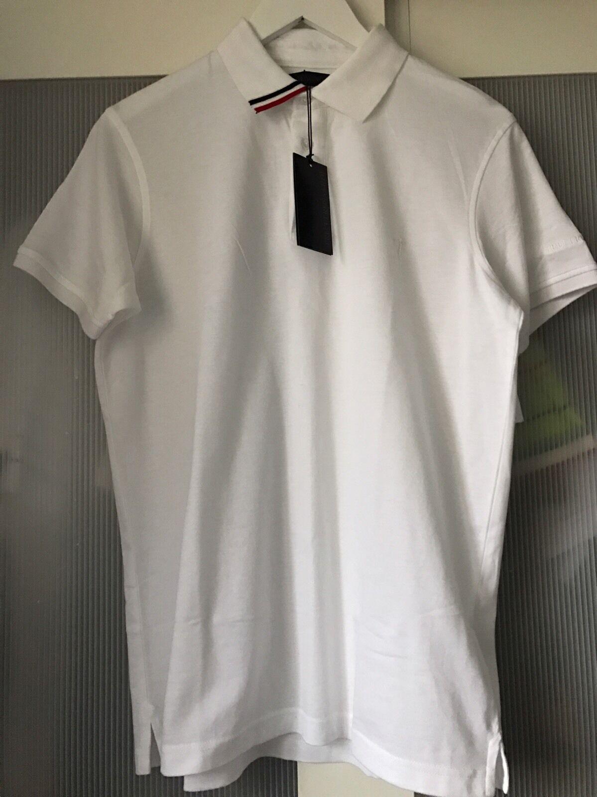 Trussardi Tru  men polo tshirt top ultra rare 100% authentic