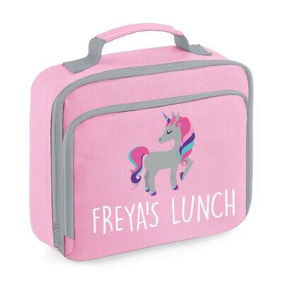 Diplomatico Personalizzata Unicorno Pranzo Cooler Bag Ragazze Borsa Isolata Scuola Cena Scatola Bpc9-mostra Il Titolo Originale Senza Ritorno