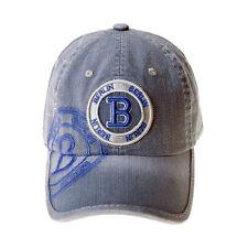 ROBIN RUTH Basecap B Berlin NEU/OVP Denim Jeans Look Cap Kappe Mütze Grau Blau