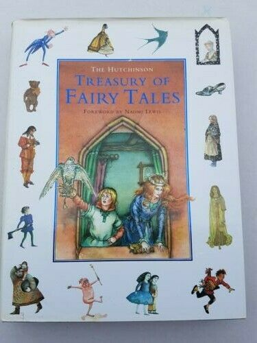 THE HUTCHINSON TREASURY OF FAIRY TALES BOOK by MADELEINE NICKLIN.V.G.C
