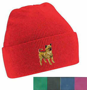 Image is loading Chihuahua-Smooth-Coat-Beanie-Hat-Embroidered-by-Dogmania 6f7688aa68c