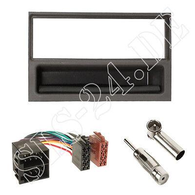 ISO Radio Adapter Antenne Saab 9.5 97-05 Einbauset Autoradio 1-DIN Radioblende