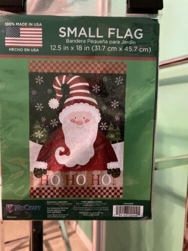 12.5x18 In. NEW WinCraft Ho Ho Ho Small Flag