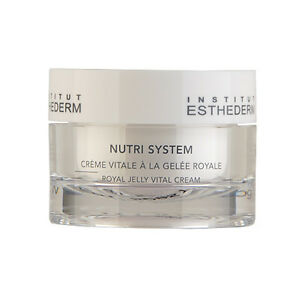 Institut-Esthederm-Nutri-System-Royal-Jelly-Vital-Cream-1-6oz-50ml-NEW-11370