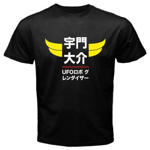 Goldorak G2 Anime Japon Robot Série T-shirt Classique Noir Basic Tee