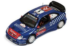 Ixo-ram251-Citroen-Xsara-Wrc-Diecast-Rally-coche-Gauloise-Turquia-2006-Colin-Mcrae