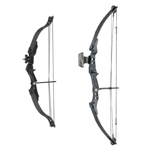 20 Child or 55 lbs Adult ASD Archery Black Compound Bow Set Right Handed Kit