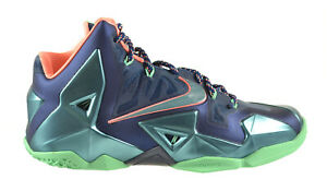 competitive price 92281 97f21 Image is loading Nike-Lebron-XI-034-Miami-Vs-Akron-034-