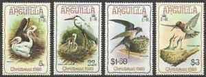 Timbres-Oiseaux-Religion-Noel-Anguilla-365-8-lot-28229