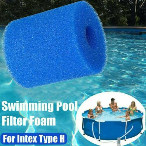 UK Replacement Swimming Pool Filter Washable Foam Sponge For Intex Type H