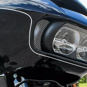 Klock Werks Honeycomb Fairing Side Vent Screen Insert