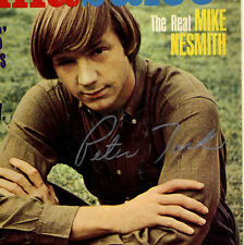 Monkees Peter Tork genuine signed aurograph HULLABALOO Magazine September 1969